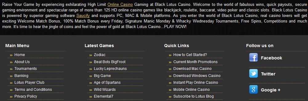 Black Lotus Casino Support 3